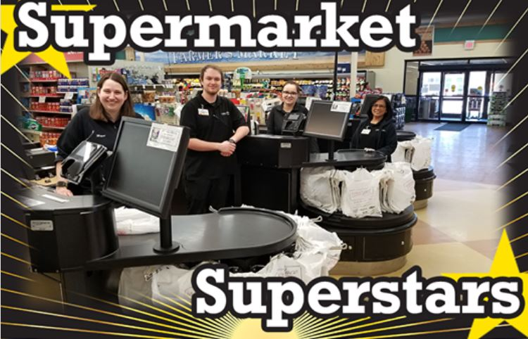 These are our supermarket superstar employees who are ready to provide a safe and pleasant shopping experience.
